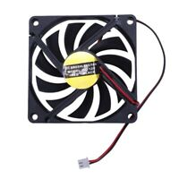 80mm 2 Pin Connector Cooling Fan for Computer Case CPU Cooler Radiator L4C8