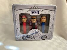 More details for pez orange county choppers rare collectible tin set new sealed