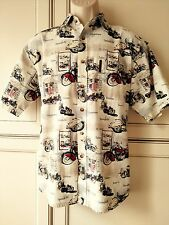 Clearwater Outfitters Motorcycle Mens Shirt Chopper Route 66 Prof pressed Medium