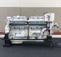 Detroit Diesel 16V92TA DDEC III , Marine Diesel Engine