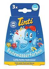 (199,25 EUR pro kg) Tinti Badewasserfarben 3er Pack Badewanne Baden 13,5 g