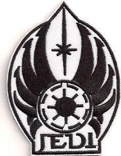 Star Wars black + white  Jedi Logo-  Patch - Aufnäher - zum aufbügeln