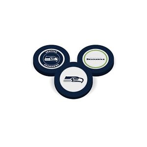 Team Golf Seattle Seahawks  Poker Chip With Magnetic Ball Marker  2 Sides