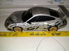 Nikko Porsche GT3RS Remote Control Car 27 MHz Radio Controlled Car Working damag