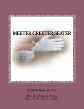 Meeter, Greeter, Seater by Deborah Willis (2012, Paperback, Large Type)