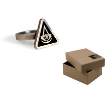 LARGE SIZE - Assassins Creed Origins Golden Ring with ORIGINAL BOX