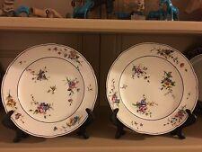 Superbe Paire Assiettes Porcelaine Tendre Sevres XVIIIème 18ème