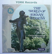 SPA 10- STRAUSS - The World Of Johann Strauss - Excellent Condition LP Record