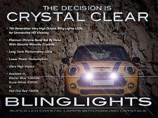 10,000K Blue LED Driving Light Fog Lamp Kit for BMW Mini Cooper /S Bumper Grille