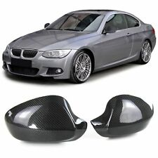 CARBON MIRROR COVERS FOR BMW E92 Coupe E93 Cabrio 2010 SERIES 3 LOOK NEW