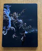 MIDDLE EARTH SHADOW OF WAR STEELBOOK- No Game case