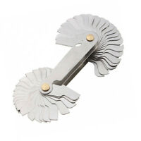 Screw Pitch Gauge 4-42TPI 28 Leaves 60° Thread  55°/&60°Inch /& Metric WELL MADE