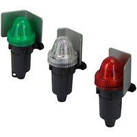Battery Operated Navigation Lights Set of 3 Nav Lights White Red Green NAVBAT3