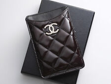 G8056M Authentic CHANEL Matelasse Brilliant Patent Leather For iPhone4.4s Case