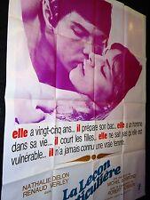 LA LECON PARTICULIERE m boisrond nathalie delon l   affiche cinema 1968