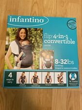 Infantino Flip 4-in-1 Convertible Baby Carrier - Gray ( 8 -32lbs)