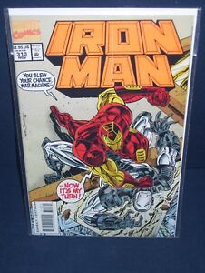 Iron Man #310 Marvel Comics with Bag and Board
