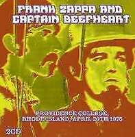 Frank Zappa And Captain Beefheart - Providence College, Rhode Island,  NEW 2 x C