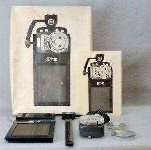 GOSSEN SINAR SIX SPOT METER GRAFLOK — SinarSix 4x5 9x12 — In box with manual