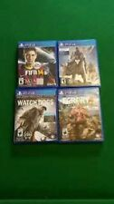 Lot of 4 PS4 Games- Destiny, Watchdogs, Far Cry 4, Fifa 14