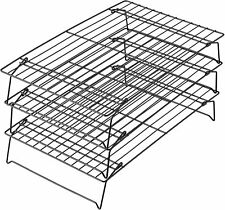 Excelle Elite 3 Tier Cooling Rack For Cookies Cakes Stacked Cooling Racks