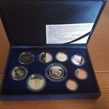 manueduc  ESTUCHE  FNMT ESPAÑA 2011  PROOF  con 9 Coins 2 Euros Conmemorativos