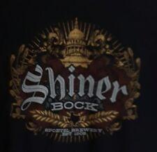 Shiner Bock Beer Men's Shirt Texas Logo Capital Building Spoetzl Brewery EST1909