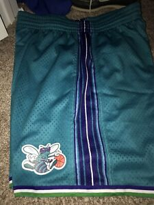 Mitchell Ness Charlotte Hornets Nba Shorts For Sale Ebay