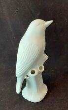 CHIVE Light Blue Porcelain Bird Flower Bud Vase