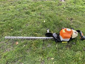 Stihl HS86R Petrol Hedge Trimmer Professional Single Sided Hedge Cutter Sthil