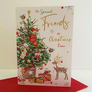 Jonny Javelin Special Friends Christmas Time Card Reindeer Christmas Tree/XSR20