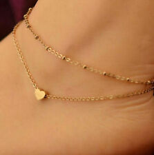 Fd4128 Women Gold Plated Ankle Chain Anklet Bracelet Foot Jewelry Sandal Beach ♫