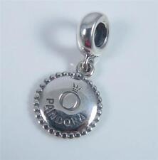 Authentic Genuine Pandora Silver Pandora Logo Dangle Charm 791169