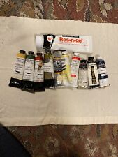 Oil Paint Lot, Windsor Newton , Daniel Smith, Res n gel And More