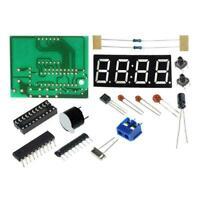 1 set 4 Bits LED Digital Elektronische Uhr C2051 DIY.Kit Clock . J4L9 Produ Z6H9