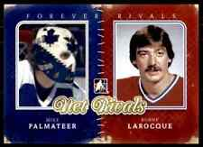 2012-13 ITG Forever Rivals Net Rivals  Mike Palmateer, Bunny LaRocque #NR-02