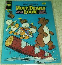Huey Dewey Louie Junior Woodchucks 68, VF- (7.5) 1981 Whitman! 50% off Guide!