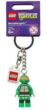 Lego ® * personaje * llavero * key Chains * Turtles Miguel Ángel * nuevo
