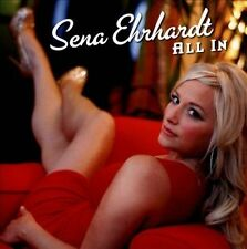 All In by Sena Ehrhardt (CD, 2013, Blind Pig)  Contemporary Blues LN & Fast Ship