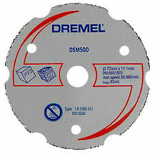 Dremel dsm500 Multipurpose Carbide Cutting Wheel/DISC/Blade dsm20 Saw-Max Outil