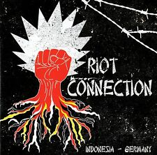 V/A - RIOT CONNECTION CD (INDONESIA / GERMANY OI-PUNK) SKINLANDER, UNITED BLOOD