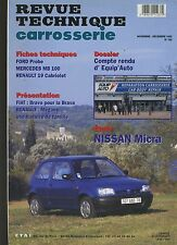 (6B)REVUE TECHNIQUE CARROSSERIE NISSAN MICRA
