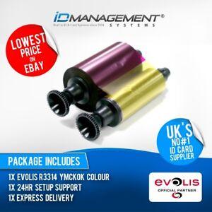 Evolis R3314 Colour Ribbon for Dualys & Securion Printers • 200 Prints