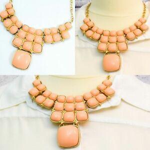 Fashion Charm Pendant Chain Crystal Jewelry Choker Chunky Statement Bib Necklace
