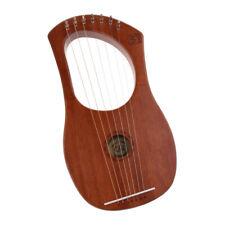 Lyra-Harfe 7 Saiten aus Holz-Harfe Harfen-Saiteninstrument Tolles Geschenk für