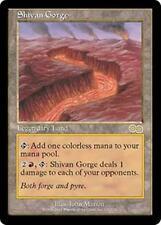 SHIVAN GORGE Urza's Saga MTG Land RARE