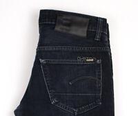 G-Star Raw Herren 3301 Niedrig Konisch Slim Jeans Größe W31 L32 ASZ556