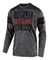 Troy Lee Designs 2020 GP Elsinore Jersey - Gray Heather / Navy - Motocross