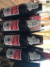 1980 Coca-Cola  LA Olympic Committee XXIIIrd Olympiad Los Angeles 1984 8 Bottles
