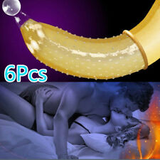 Lots 6Pcs Men Condoms Adult Condoms Latex Condoms Sexy Condoms G Spot Condoms